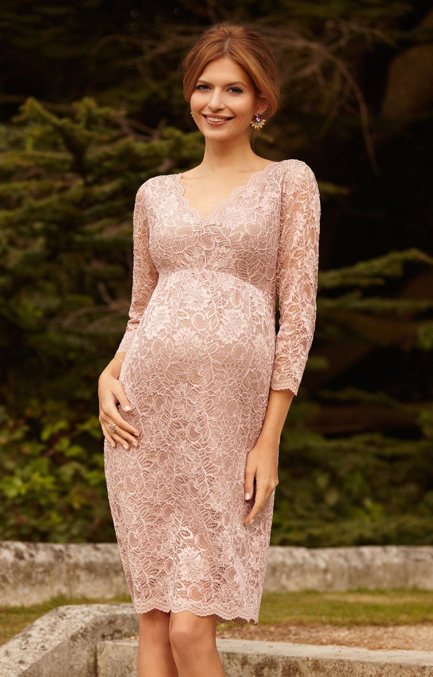 Short Pink Maternity Dresses