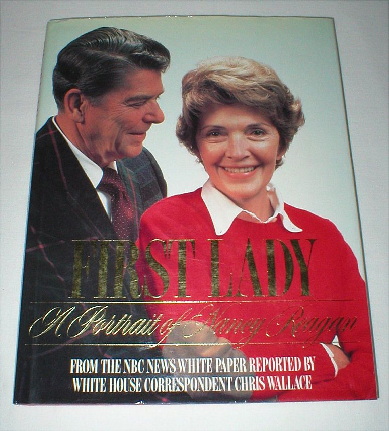 Nancy reagan first lady book 1986 hardcover 1st