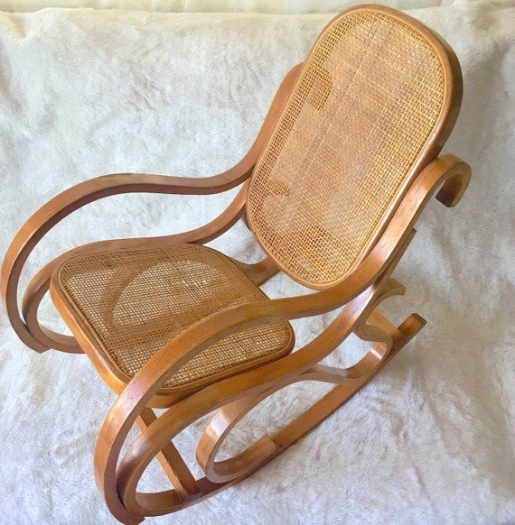 Amazing Vintage Bentwood Rocking Chair Child Size Bent Wood Curved Lamtechconsult Wood Chair Design Ideas Lamtechconsultcom