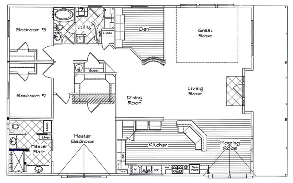 Model homes house floor plans catalog of manufactured for Custom home builders puyallup wa