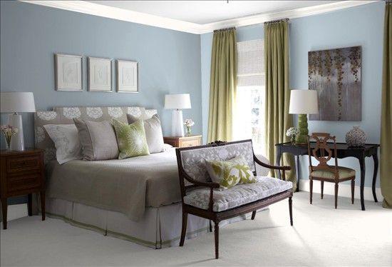 Bm Blue Heather Trendy Living Rooms Bedroom Makeover Bedroom Design Heather colour bedroom ideas