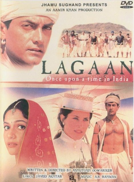 Lagaan Once Upon A Time In India 2001 Aamir Khan Gracy Singh