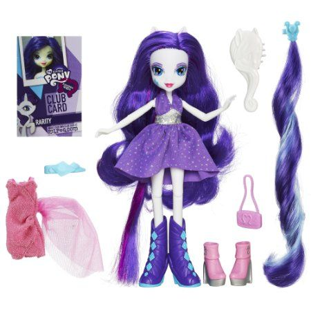 Amazon.com: My Little Pony Equestria Girls Rarity Doll: Toys & Games