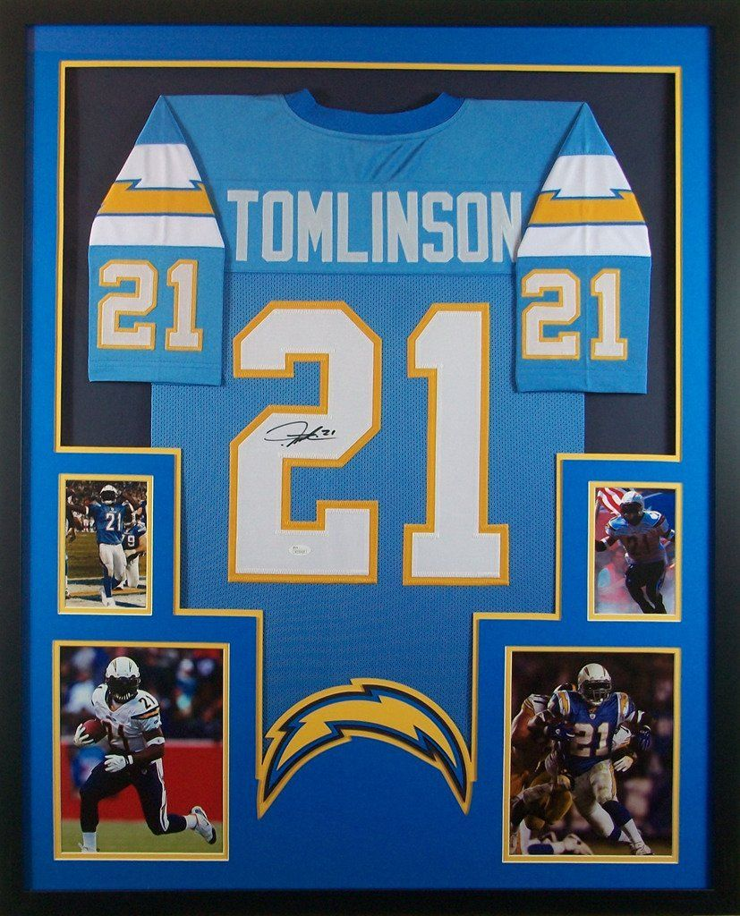 362bed1f11e Ladainian Tomlinson Framed Jersey Signed JSA COA Autographed San Diego  Chargers