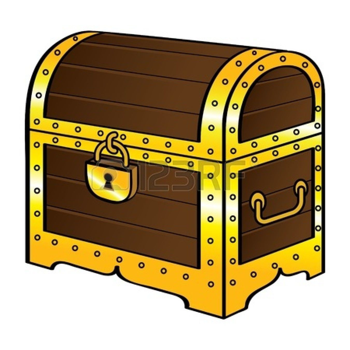 treasure chest stock vector illustration and royalty free treasure rh pinterest com au