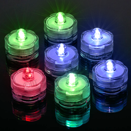 Free Shipping Buy 12 Submersible Led Waterproof Lights Rgb For Vase