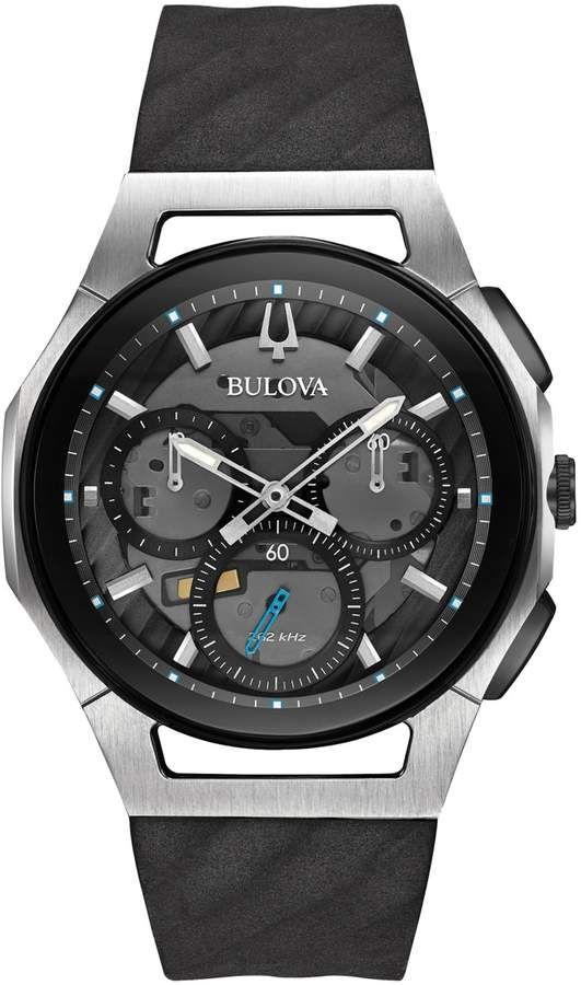 b66abc114 Bulova Men's CURV Chronograph Watch - 98A161 | Products | Bulova ...