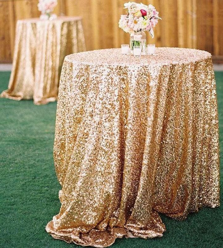 2015 cheap rose gold bling bling sequins wedding for Rosegold dekoration