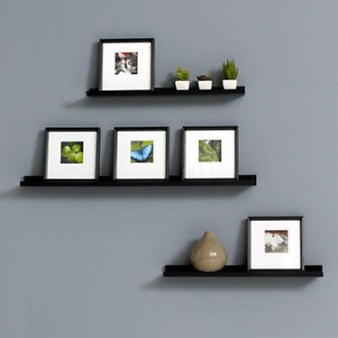Floating Photo Ledge | 24 in.- 48 in. wide Wall Shelf