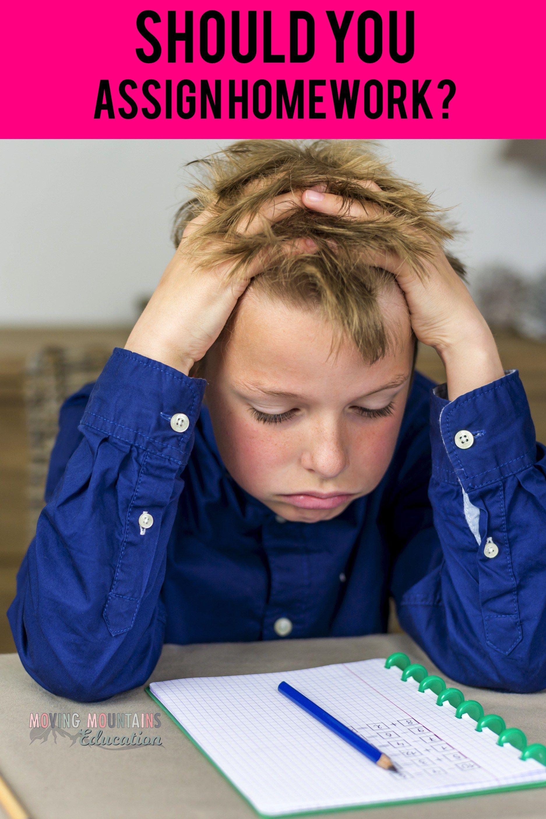 reasons why teachers should give homework