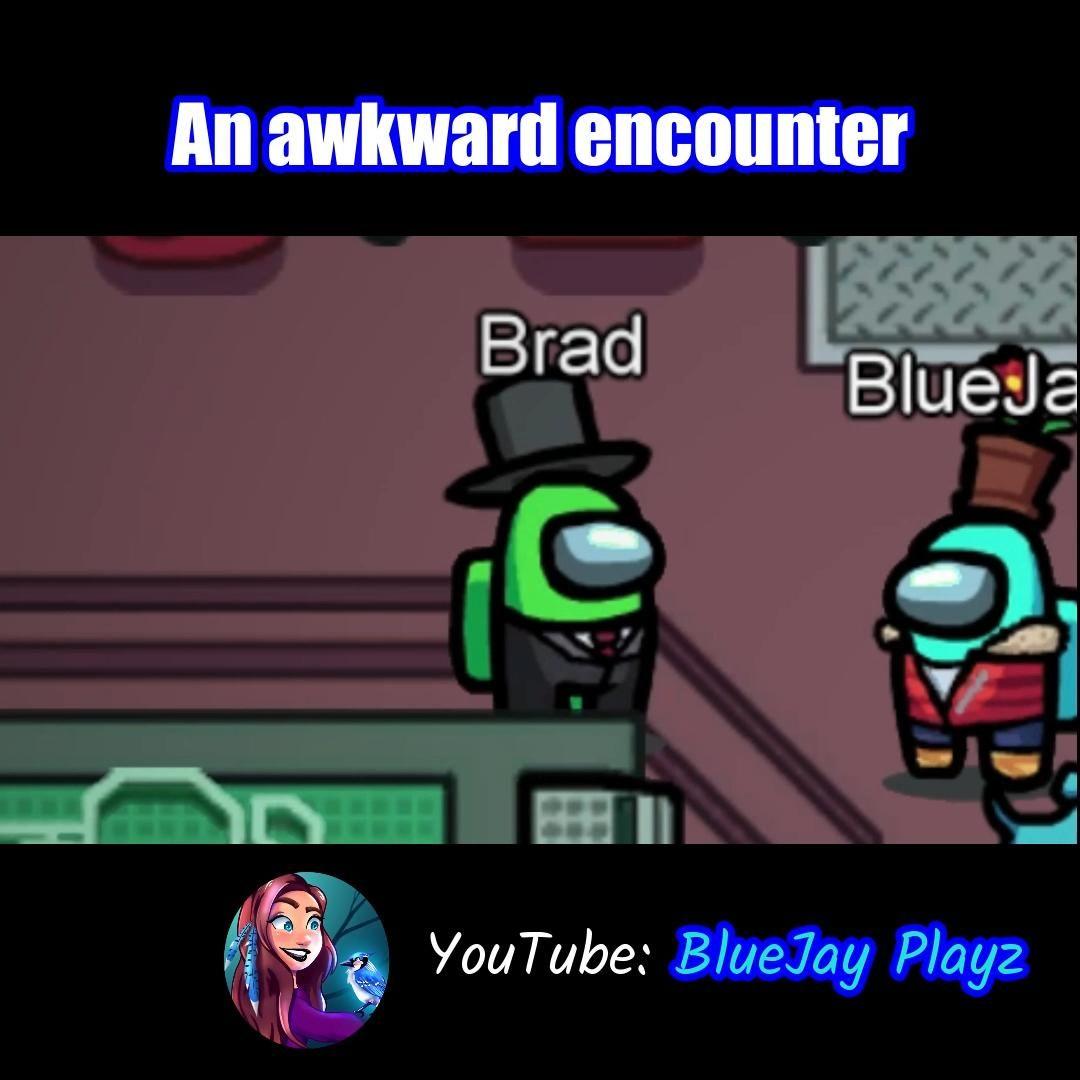 An awkward encounter