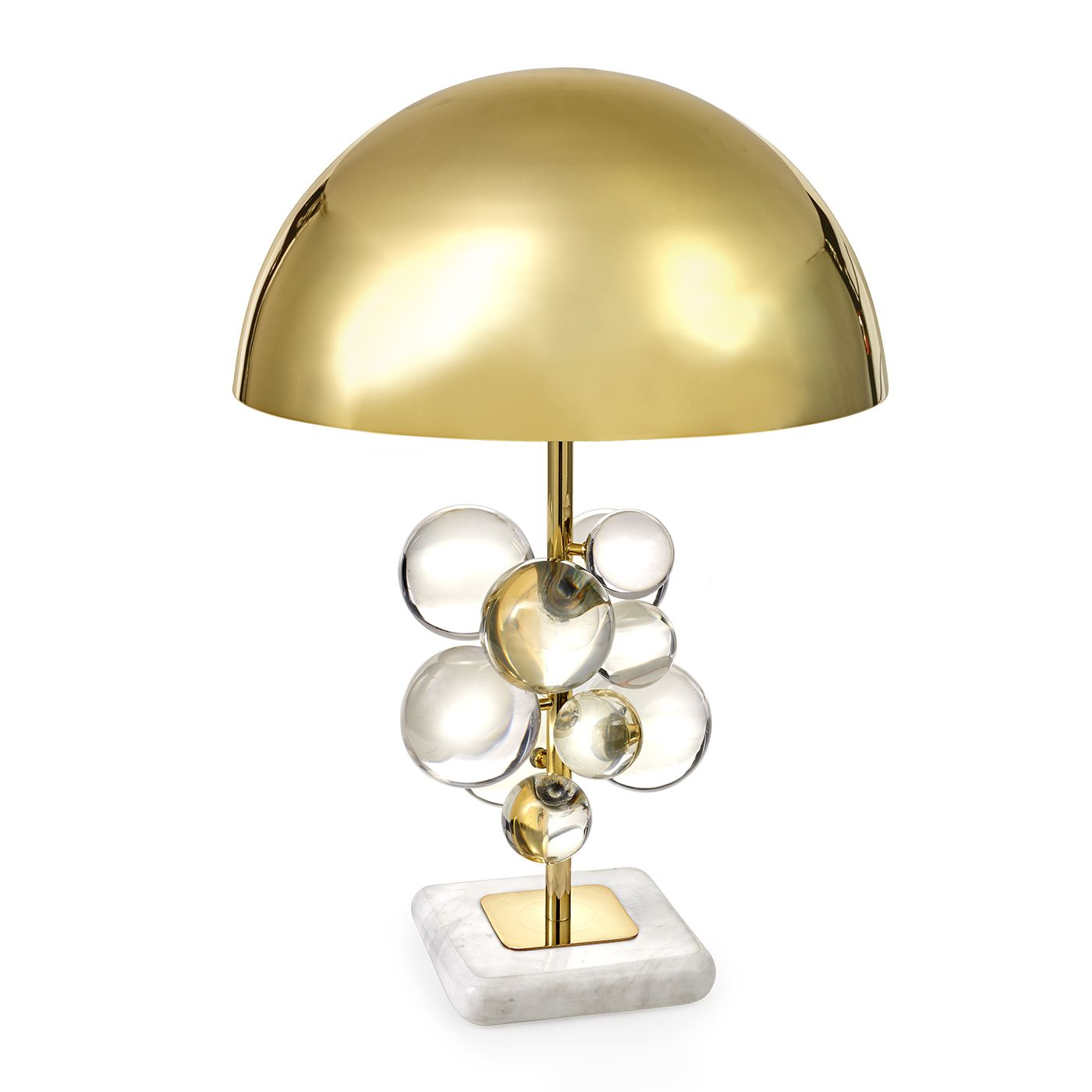 Globo Table Lamp Table Lamp Lucite Table Transitional Decor
