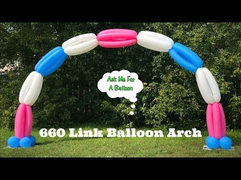 How To Make Balloon Arch. Spiral Balloon Weaving. Woven Balloon Hat. Balloon  Pole   YouTube