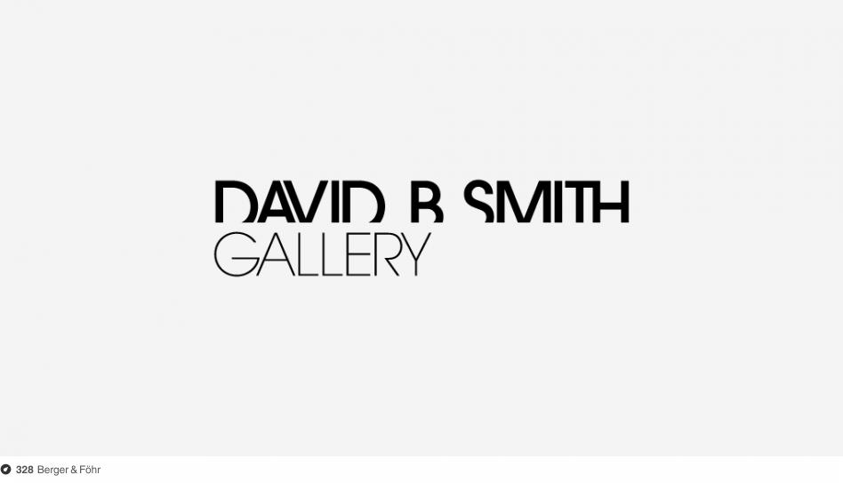 David B. Smith Gallery Identity