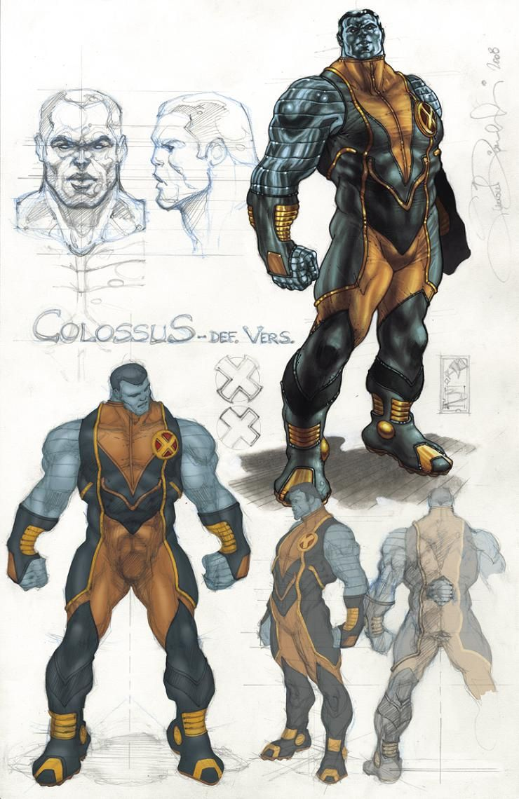 colossus marvel x men - photo #33