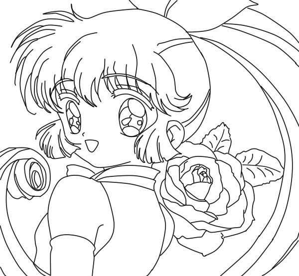 Giselle Chibi Lineart By Yampuff On Deviantart