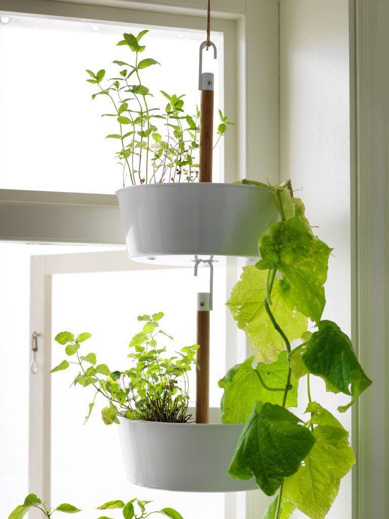 Cache pot suspendus pot de fleurs suspendu et jardinière suspendue marie claire maison