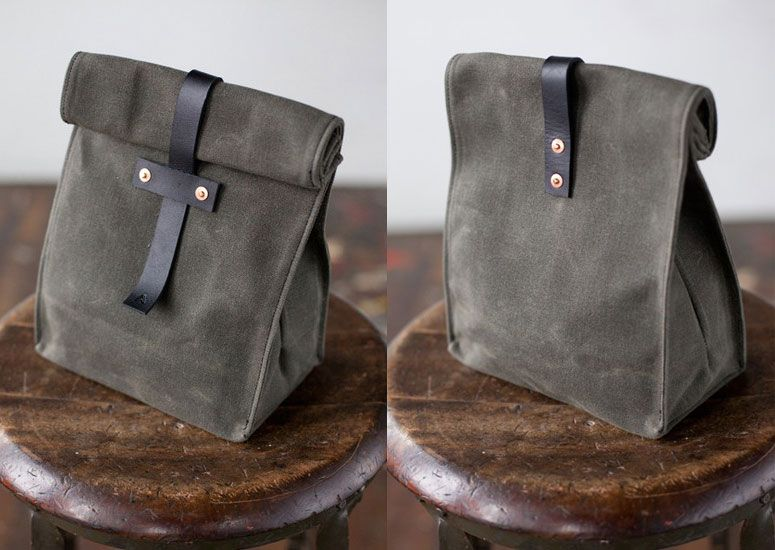 Artifact Waxed Canvas Lunch Tote Products I Love Sac