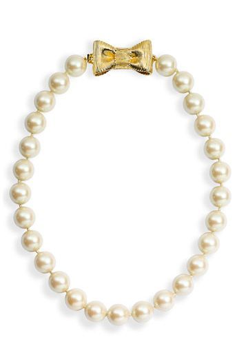 REVEL: Short Glass Pearl Necklace