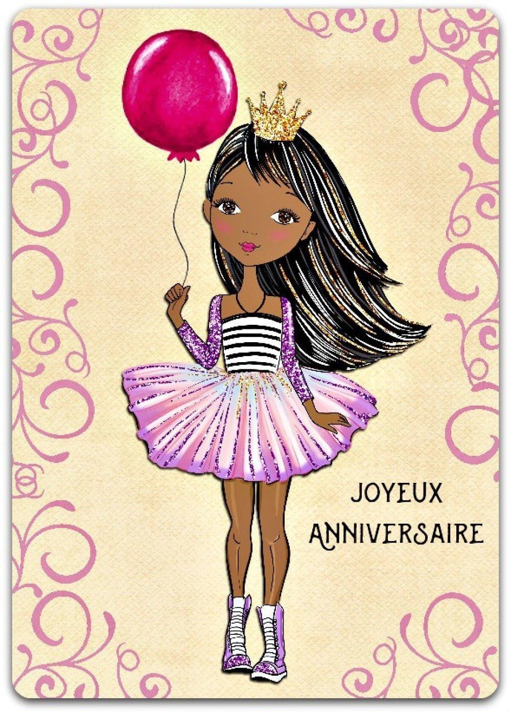 carte joyeux anniversaire fille Créer Carte D'invitation Anniversaire Fille Inspirational Carte De