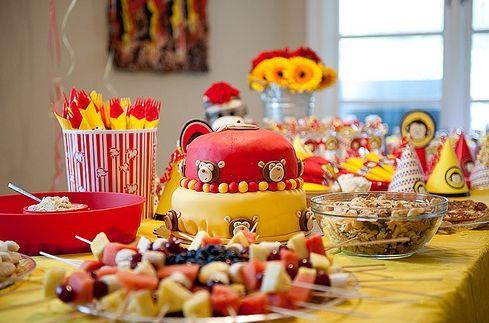 Ideas para decorar cumplea os infantiles fiestas - Ideas infantiles para cumpleanos ...