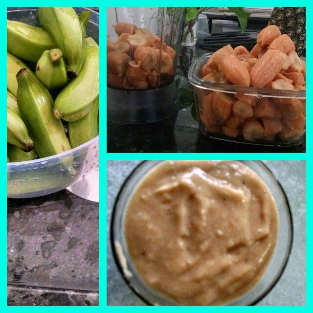 Biomassa de banana verde: rica em vitaminas e minerais