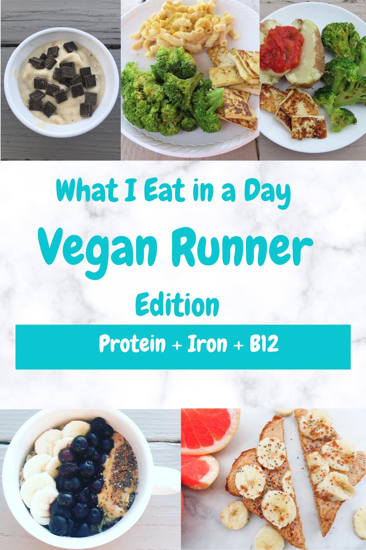 What I Eat In A Day As A Vegan Runner In 2020 Vegan Recipes Healthy Vegan Runner Vegan Meal Prep