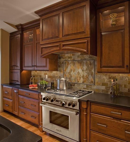 Ideas De Almacenaje Para Cocinas Pequeñas: Modern Ideas For Tiled Kitchen Backsplash Designs