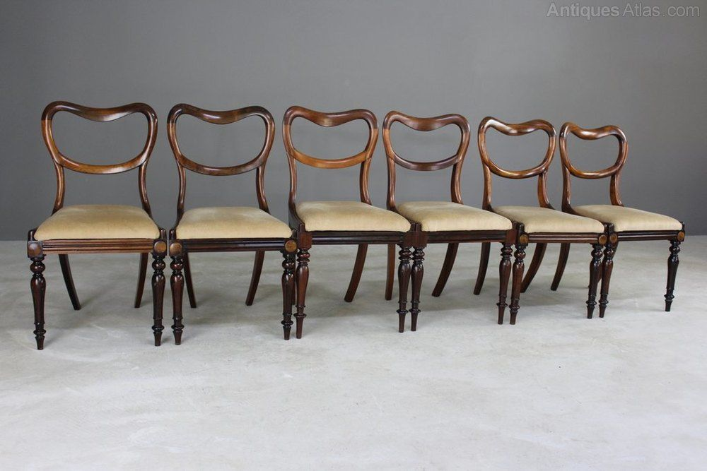 6 Antique Victorian Rosewood Dining Chairs Antiques Atlas Antique Dining Chairs Dining Chairs Rosewood Dining Chairs