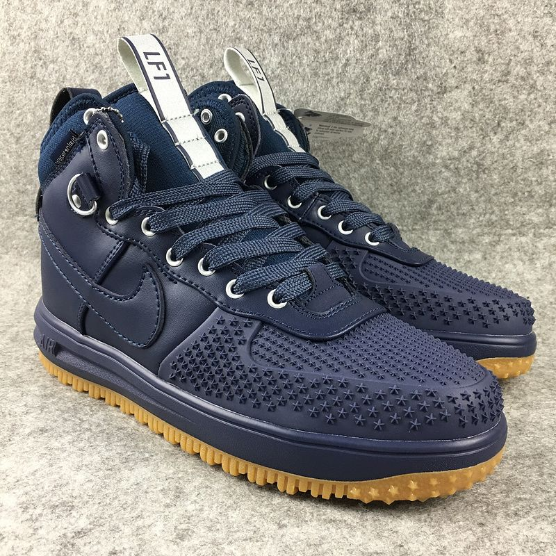 32da3192dc95 2018 Spring Fashion Nike Lunar Force 1 Duckboot High Vivid Blue ...