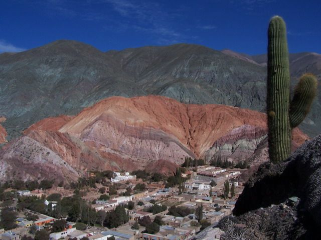Norte de Argentina, Jujuy :Quebrada de Humahuaca ,
