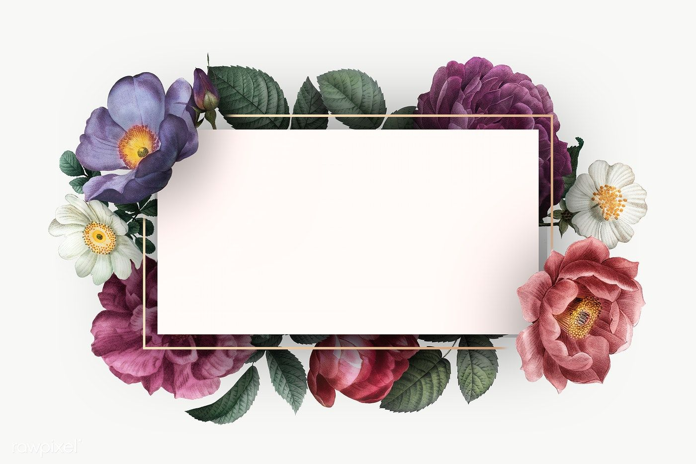 Beautiful Hand Drawn Colorful Roses Invitation Card Transparent Png Premium Image By Rawpixel Com Flower Background Wallpaper Floral Poster Colorful Roses