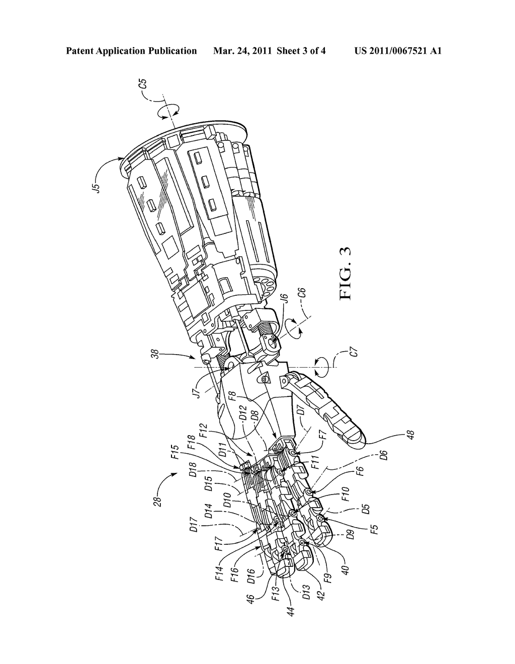 Robot Arm Patent