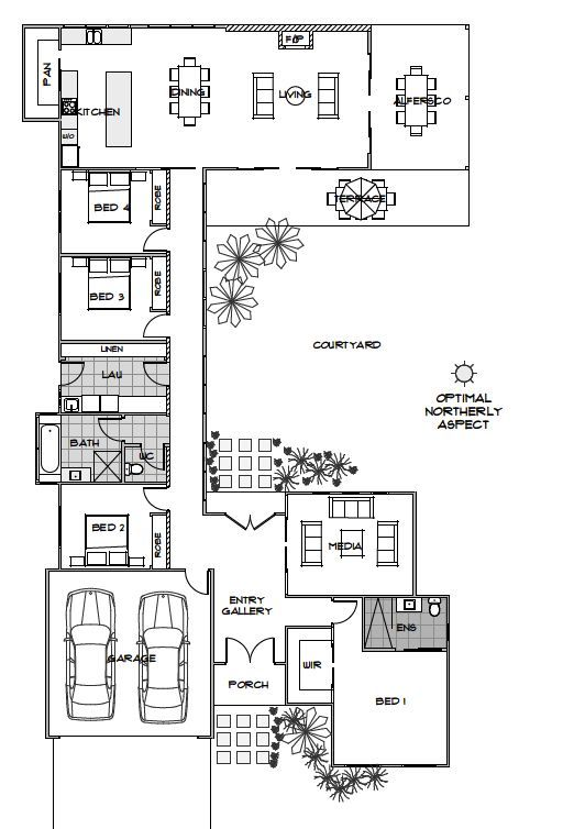 Elara Green Homes Australia Swap Bedroom 1 And Garage And Would Be Ideal Energy Efficient House Plans Solar House Plans House Plans Australia