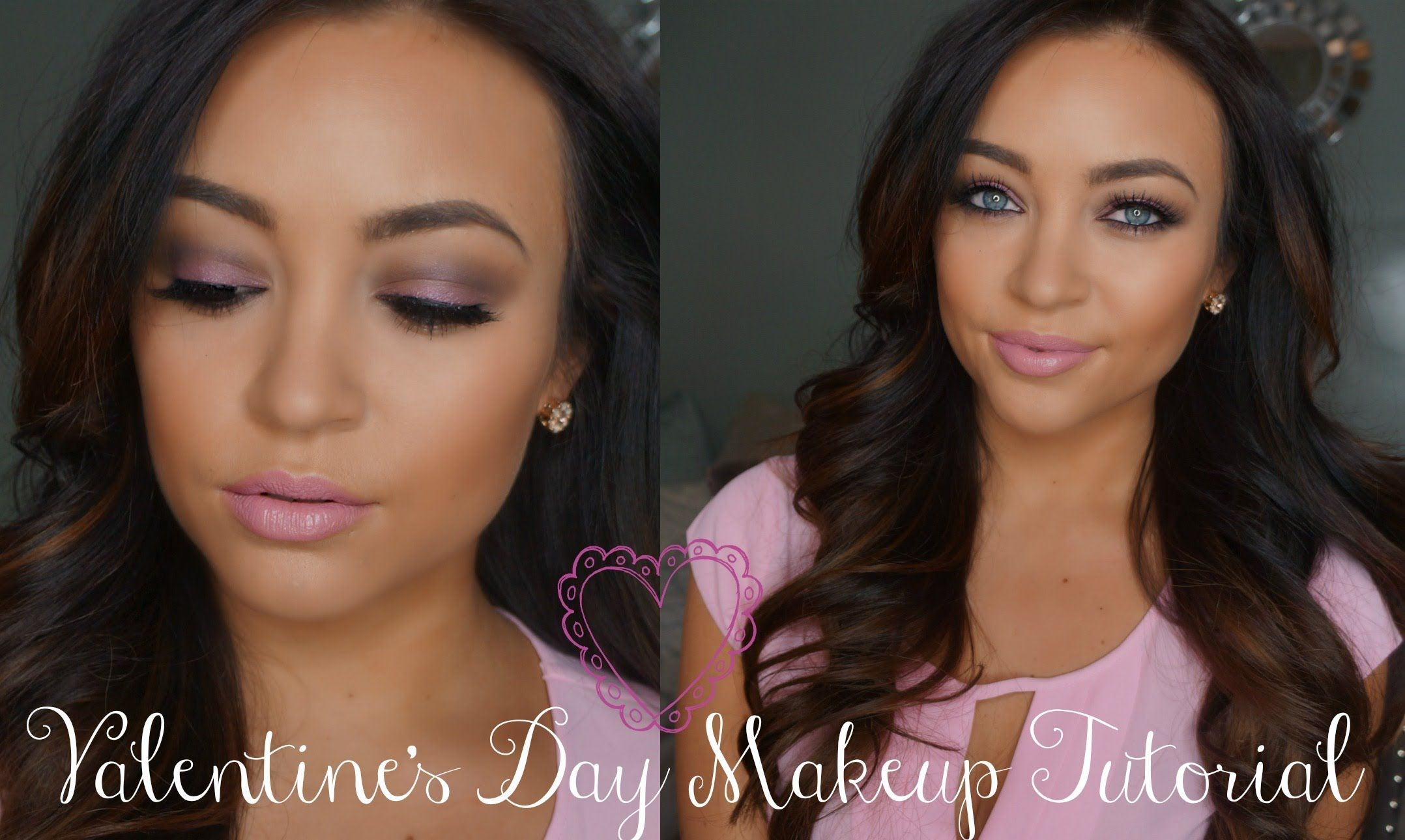 Photo of Soft Pink Valentine's Day Makeup Tutorial ♡