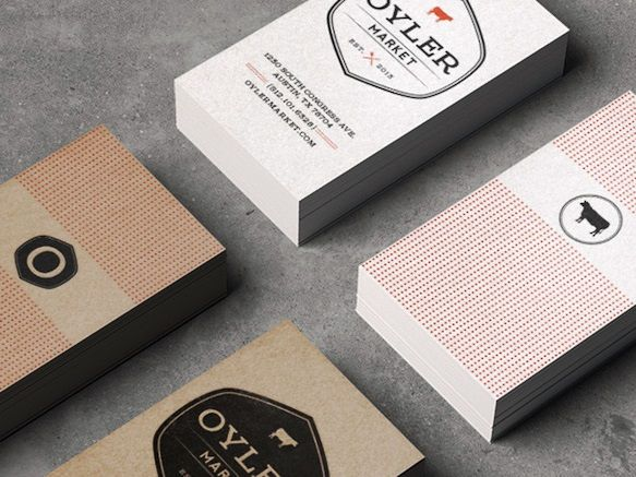 Gambar Contoh Desain Kartu Nama Oyler Market By Alex Chernault