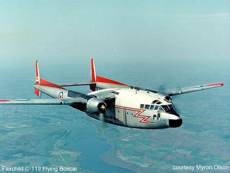 RCAF c-119 BOXCAR | Air Force | Cargo aircraft, Airplane ...