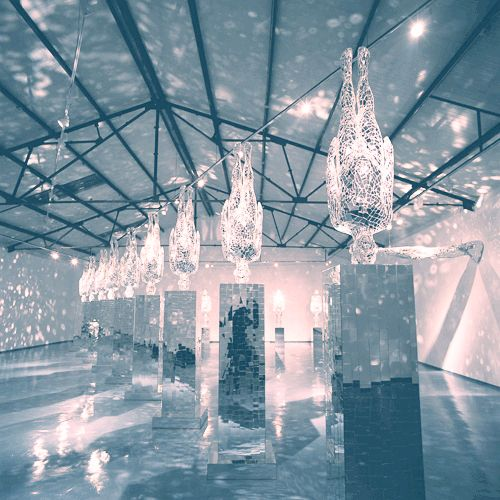 Mirror installation art installation pinterest for Mirror installation