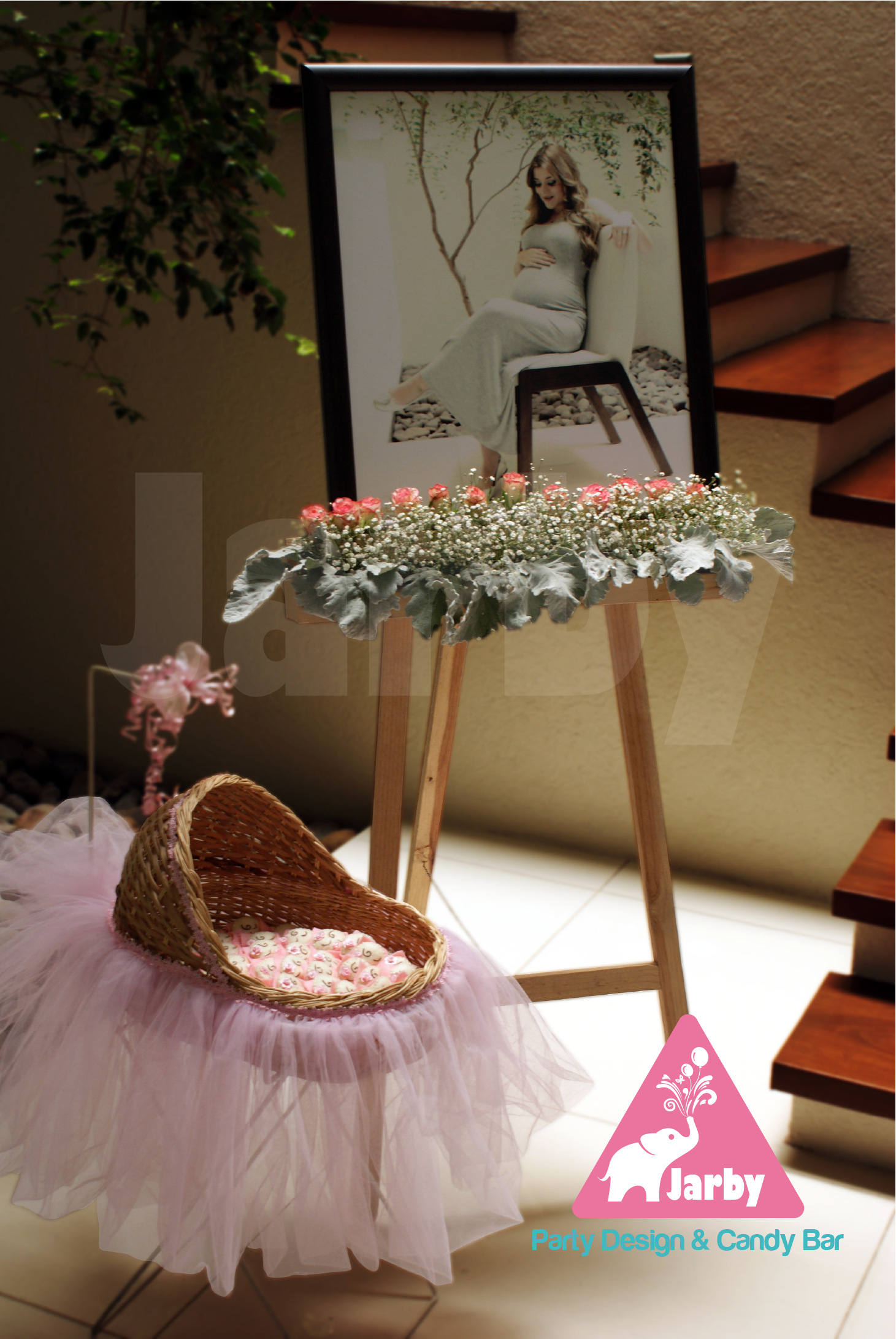 Decoraci n de lobby para baby shower hermosa fotograf a - Baby shower decoracion ...