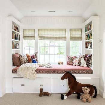Kids Window Seat Daybed Built In Daybed Bed Designs With