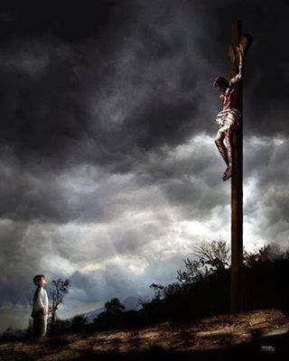 Jesus dying on the cross, pray for me. You gave your precious life for me.