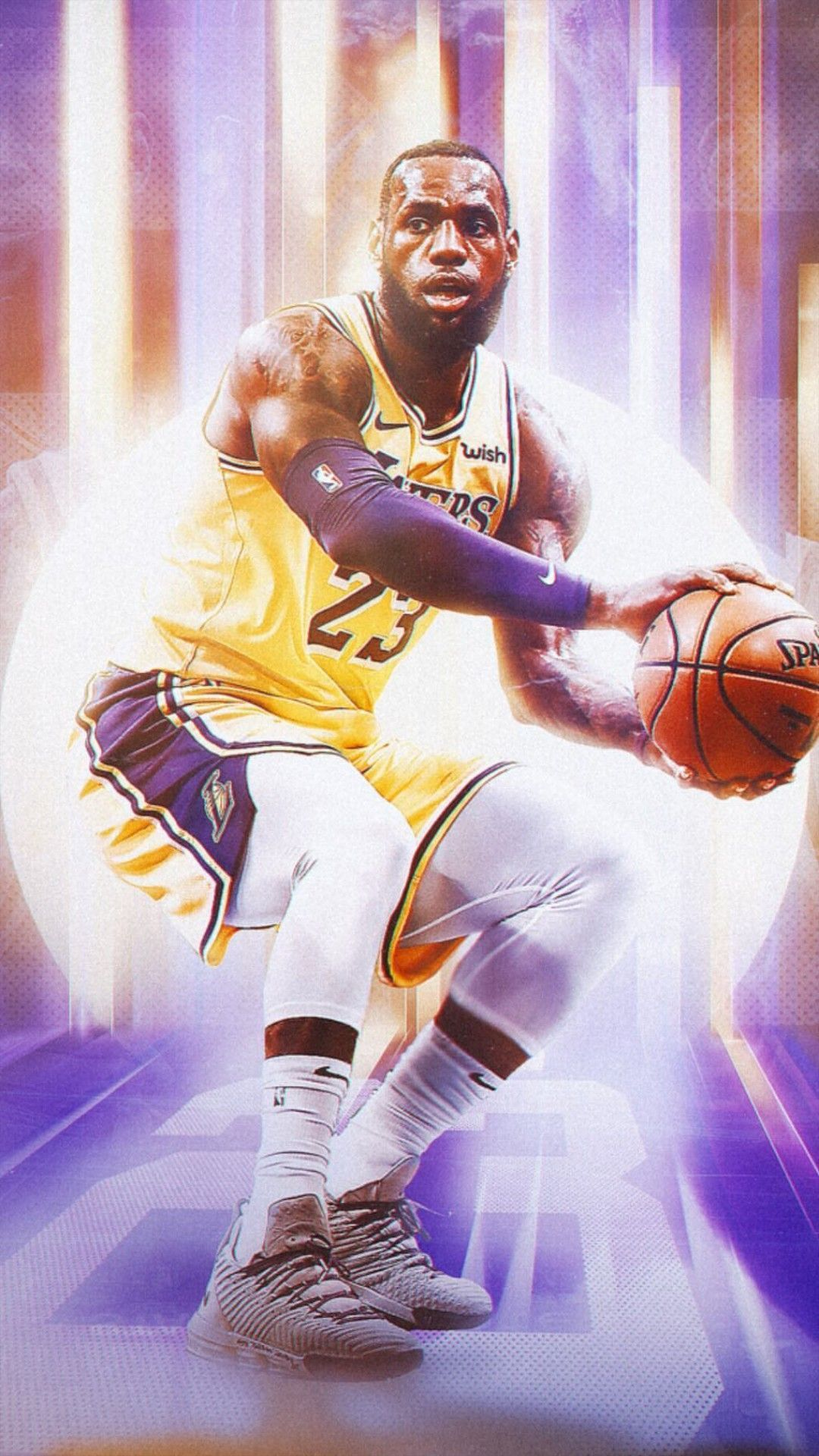 Lakers Anthony Davis Wallpaper Download In 2020 Lebron James Lakers Lebron James Wallpapers King Lebron James