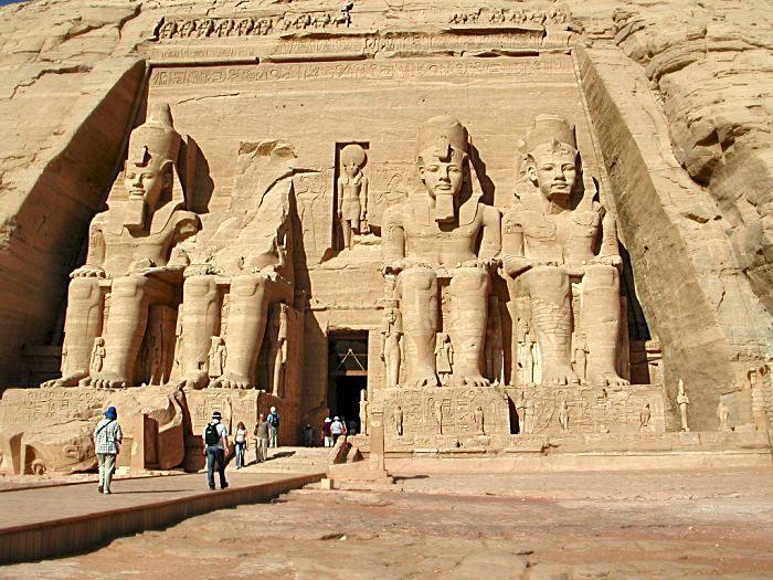 Abu Simbel - Nubia, southern Egypt...