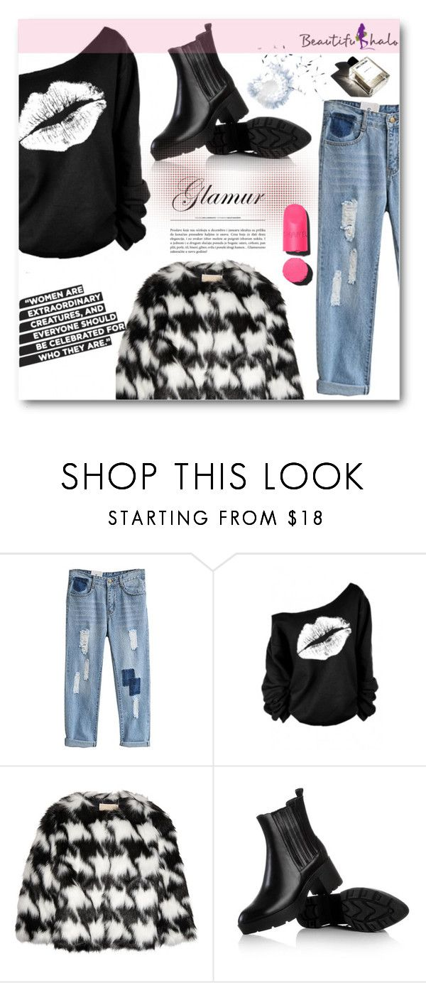 """""""beautifulhalo.com 15"""" by angelstar92 ❤ liked on Polyvore featuring MICHAEL Michael Kors, JY Shoes, Chanel, Garance Doré, women's clothing, women, female, woman, misses and juniors"""