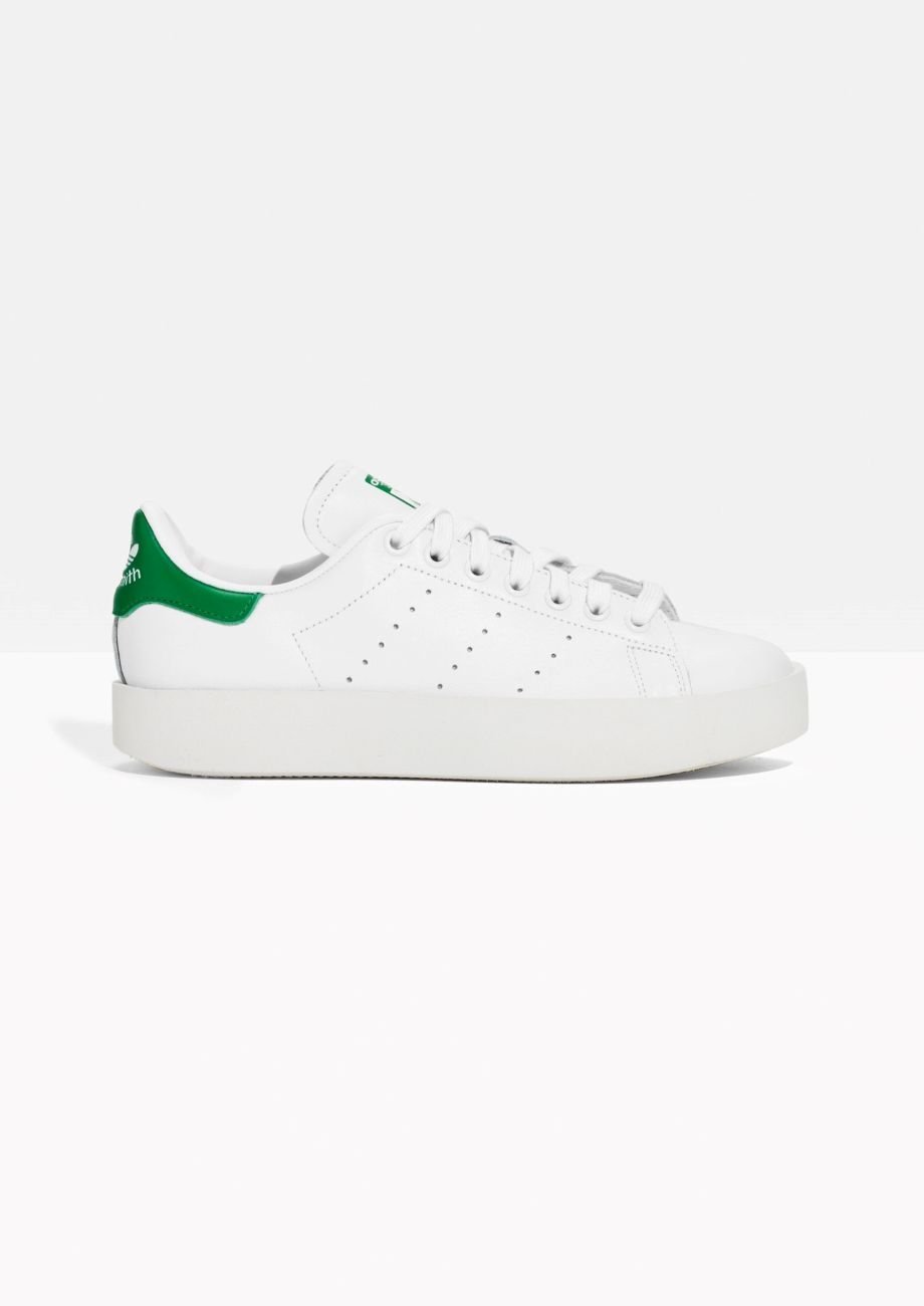 Other Stories image 1 of Adidas Stan Smith Bold in White  3d2ecc05b