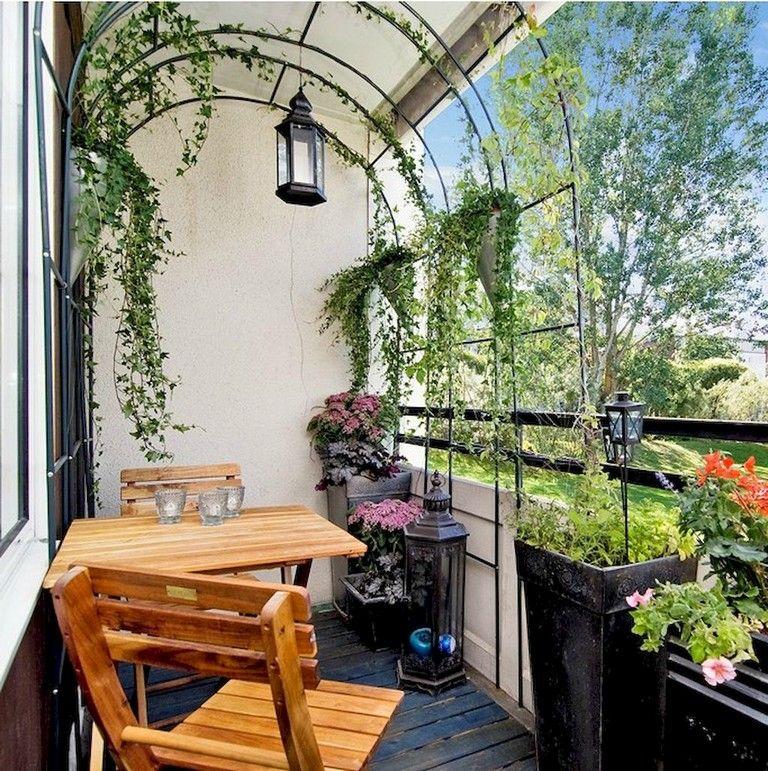 75 comfy small apartment balcony decor