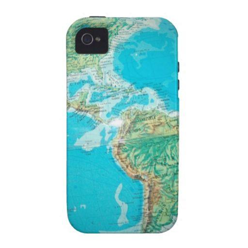 blue world map #map #worldmap iPhone 11 case