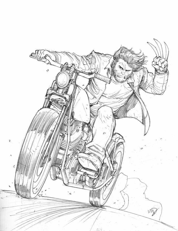 Wolverine #Wolverine | Logan | Pinterest | Imagenes colorear y Colorear