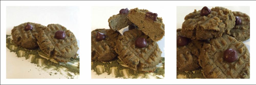 Photo of Matcha Green Tea Coconut Flour Cookies