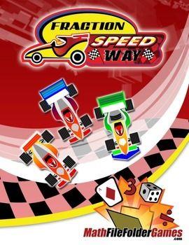 Fraction Speedway: Identifying Equivalent Fractions http://www.teacherspayteachers.com/Product/Fraction-Speedway-Identifying-Equivalent-Fractions-1052553